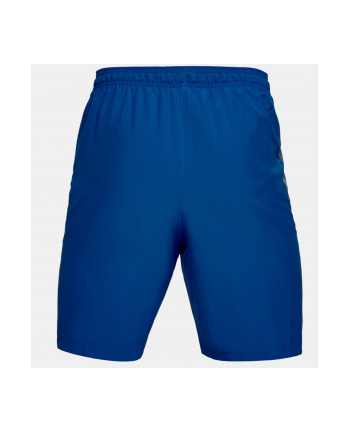 Spodenki krótkie Under Armour Woven Graphic Wordmark Short (M; Poliester; kolor niebieski)