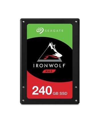 Dysk serwerowy Seagate IronWolf 110 ZA240NM10011 (240 GB SSD 240GB; 25 ; SATA III)