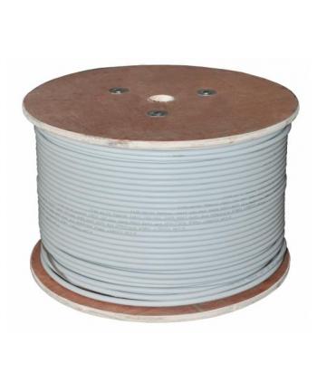 Kabel F/UTP A-LAN KIF6PVC500 (FTP; 500m; kat 6; kolor jasnoszary)