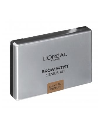 l'oréal Zestaw kosmetyków Loreal Brow Artist Genius 01 Light Light to Medium (3 5g)