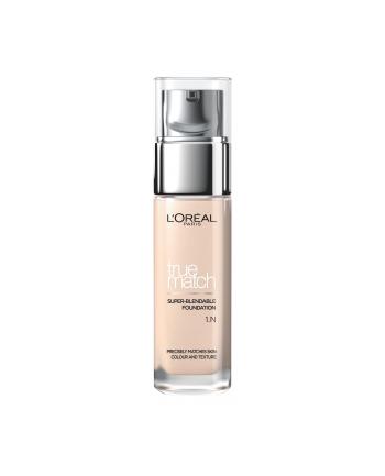l'oréal Podkład L'Oreal Paris True Match Super blendable 1N Ivory (30 ml )
