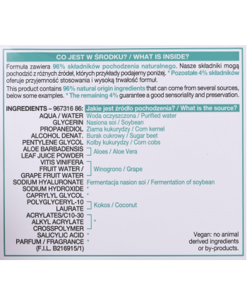 Krem Żelowe do twarzy Garnier Hyaluronic Aloe Jelly (Dla kobiet; 18+)