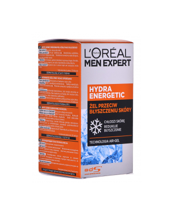 l'oréal Krem przeciw błyszczeniu do twarzy Loreal Men Expert Hydra Energetic 25+ Przeciw Błyszczeniu