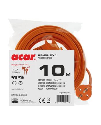 Przedłużacz HSK DATA ogrodowy M01805 (10m; kolor pomarańczowy)