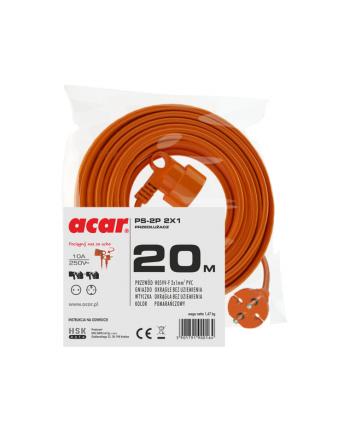 Przedłużacz HSK DATA M01807 (20m; kolor pomarańczowy)