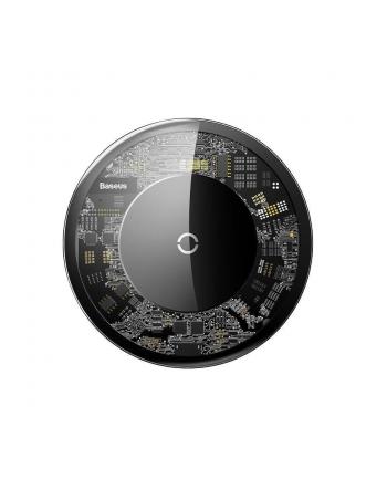 Ładowarka indukcyjna do smartfona Baseus CCALL-AJK01 (iPhone/iPad Lightning; kolor przeźroczysty)
