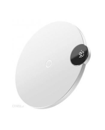 Ładowarka indukcyjna do smartfona Baseus WXSX-02 (iPhone/iPad Lightning; kolor biały)