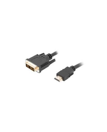 Lanberg kabel HDMI -> DVI-D(18+1) M/M Single Link, czarny 3m