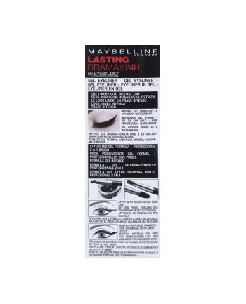 Eyeliner Maybelline Lasting Drama Gel Liner 01 Intense Black 01 Noir Black (3 g )