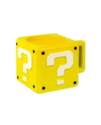 Kubek Paladone Super Mario Question Block (300 ml; kolor żółty)
