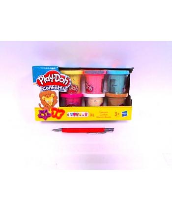 PLD Play-Doh Konfetti 6 tub B3423 HASBRO