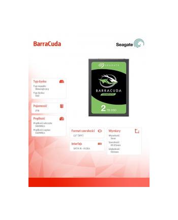 seagate Dysk BarraCuda SSD 2TB ZA2000CM1A002