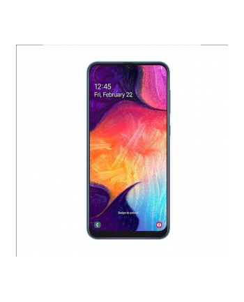 Samsung Galaxy A50 (Blue) Dual SIM 6.4'' Super AMOLED 1080x2340/2.3GHz x 1.7GHz/128GB/4GB RAM/Android 9.0/microSD/microUSB,WiFi,4G,BT/