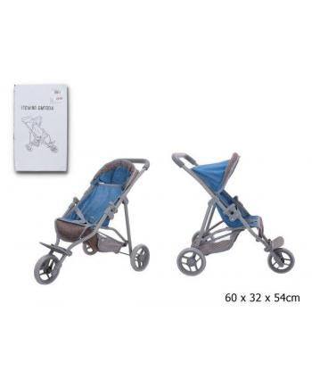 gazelo Wózek spaceróka dla lalek w pudełku GMT004
