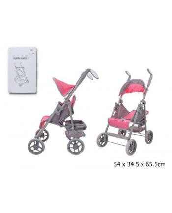 gazelo Wózek spacerówka dla lalek w pudełku GMT007