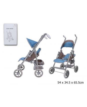 gazelo Wózek spacerówka dla lalek w pudełku GMT008