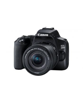 canon Aparat EOS 250D czarny + obiektyw 18-135S 3454C019