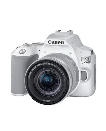 canon Aparat EOS 250D WH + obiektyw 18-55S 3458C001