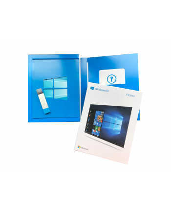 Microsoft Windows 10 Home Multi Box 32/64bit USB P2 (EN/PL/DE/FR/ES/IT) P/N: KW9-00478