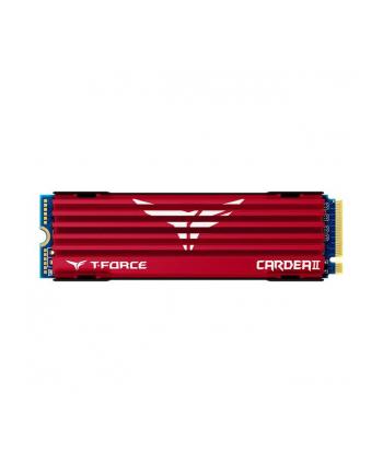 Team Group Dysk SSD Cardea II 1TB M.2 NVMe, 3400/3000 MB/s, z chłodzeniem