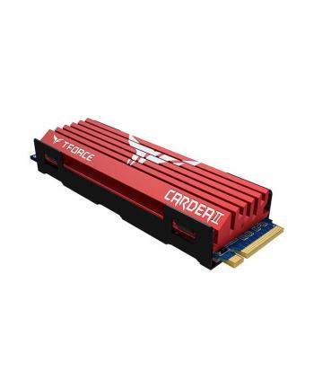 Team Group Dysk SSD Cardea II 256GB M.2 NVMe, 3000/1000 MB/s, z chłodzeniem