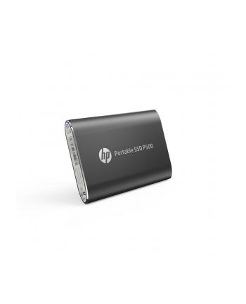 HP Dysk zewnętrzny P500 250GB, USB 3.1 Type-C, Czarny