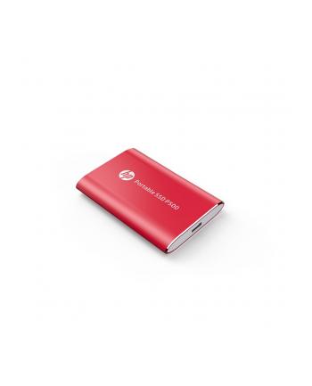 HP Dysk zewnętrzny P500 250GB, USB 3.1 Type-C, Czerwony