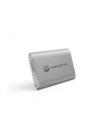 HP Dysk zewnętrzny P500 250GB, USB 3.1 Type-C, Srebrny