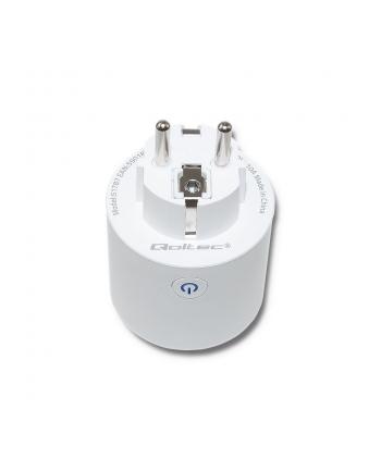 Qoltec Inteligentnawtyczka Wi-Fi Smart | Biała