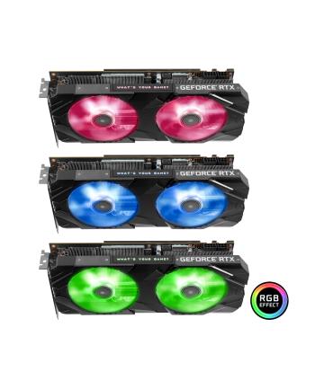 KFA2 GeForce RTX 2070 SUPER EX (1-Click OC), 8GB GDDR6, 3xDP, HDMI