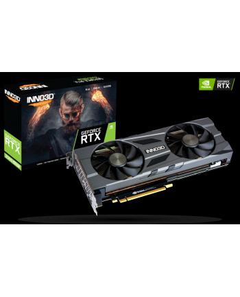 INNO3D GEFORCE RTX 2080 SUPER TWIN X2 OC, 8GB GDDR6, 3xDP, HDMI