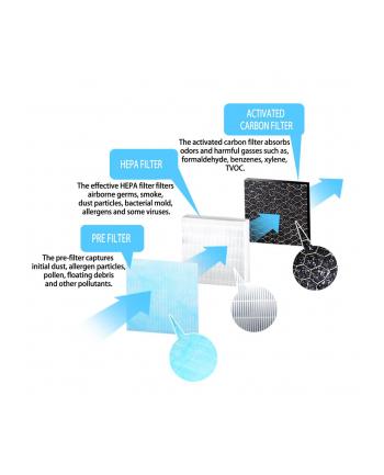 Filtr do oczyszczacza powietrza ESPERANZA EHP001SP