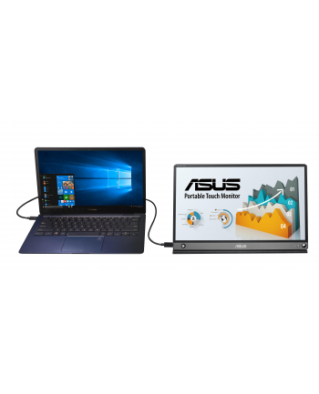 Monitor Asus MB16AMT 15.6'', FHD, IPS, USB Type-C