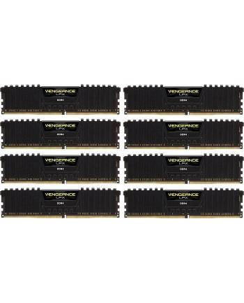 Corsair Vengeance LPX 256GB (8 x 32GB) DDR4 2666 (PC4-21300) C16 1.2V, Black