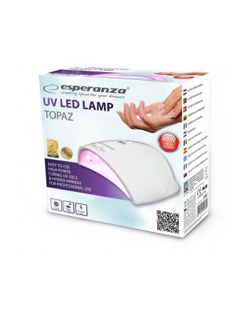 ESPERANZA EBN006 TOPAZ - Lampa UV do paznokci żelowych, hybrydowych 48W