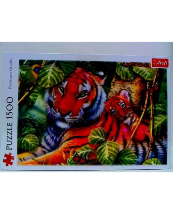 Puzzle 1500el Dwa tygrysy 26159 Trefl