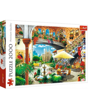 Puzzle 200el Widok na Barcelonę 27105 Trefl