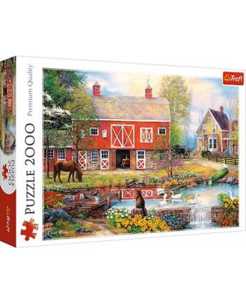 Puzzle 2000el Sielskie życie 27106 Trefl