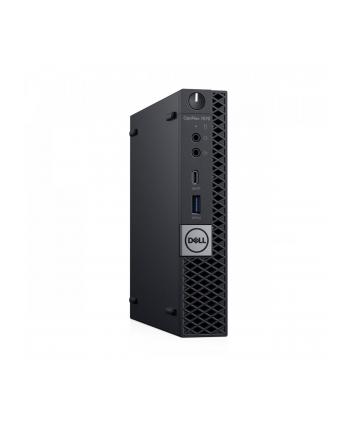 dell Komputer Optiplex 7070 MFF W10Pro i7-9700T/8GB/256GB SSD/Intel UHD 630/WLAN + BT/KB216 & MS116/3Y NBD