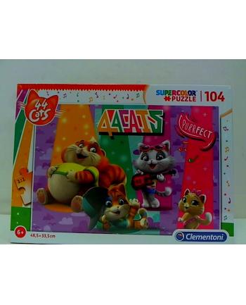 Clementoni Puzzle 104 EL SUPER KOLOR 44 Koty 27288 p6
