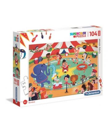 Clementoni Puzzle 104 EL MAXI SUPER KOLOR Crazy Circus 23733 p6