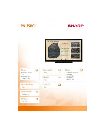 sharp Monitor 75 PN-75HC1