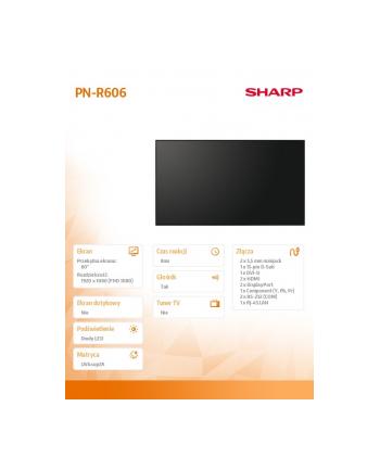 sharp Monitor 60 PN-R606