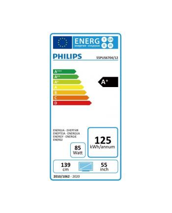 philips Telewizor LED 55 55PUS6704/12