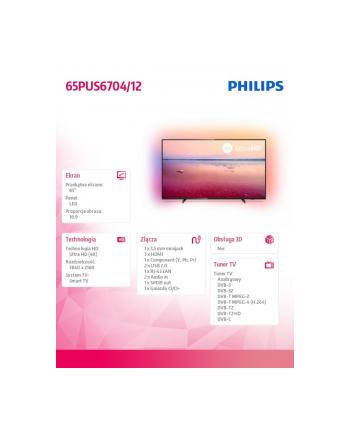 philips Telewizor LED 65 65PUS6704/12