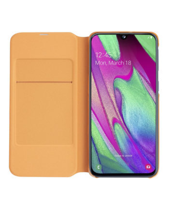 Etui Wallet Cover do Galaxy A40 białe