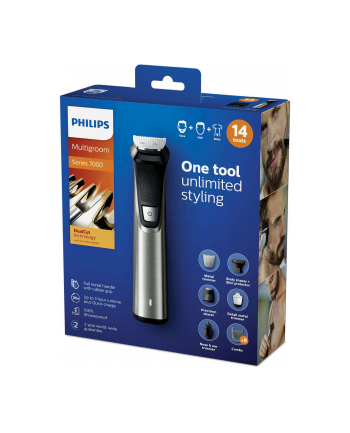 Golarka do ciała Philips Multigroom MG7745/15 (kolor srebrny)