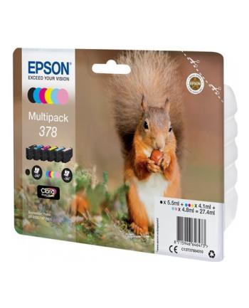 Multipack Epson C13T37884010 6-colours | Claria Photo HD 378