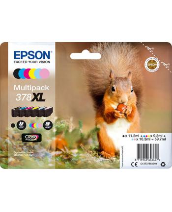 Multipack Epson C13T37984010 6-colours | Claria Photo HD 378XL