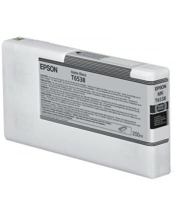 Tusz Epson T6538 Matte Black | 200 ml